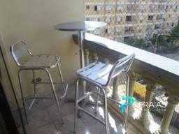 Apartamento à venda com 2 dormitórios em Enseada, Guarujá cod:72004
