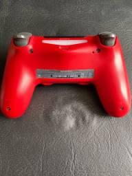 Controle ps4 vermelho camuflado