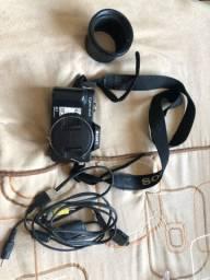 Câmera cyber shot Sony DSC H10 8.1 10x zoom