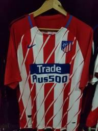 Camisa Atlético de Madrid Nike Efetuamos Entregas