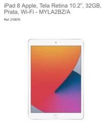 IPlace - Novo iPad 8 - 32 gb