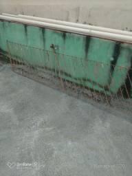 Corrimão de ferro para escada com 3.20 comprimento x 1.00 de altura
