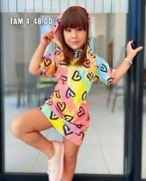 Vestido Tie Dye Infantil
