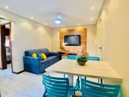 Ótimo Apartamento a meia quadra da praia , 02 dormitórios- Box duplo