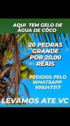 GELO DE ÁGUA DE CÔCO