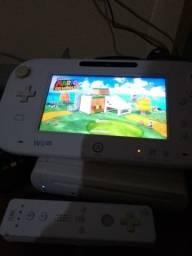 Nintendo wii u,11 jogos+wiimote,pen drive 64 gb