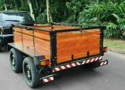Reboque e carretinha truck BRAVOLLI
