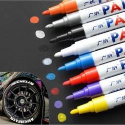 Caneta permanente Paint para pneus de moto