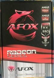 RX 550 2 Gb - AFOX