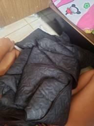 Capa de sofá retratil preta