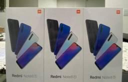 Loja física. Novo Xiaomi NOTE 8T tela maior NFC carga ultra rápida. Garantia NFe