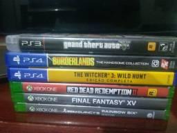 Jogos PS4 e Xbox one. Ps3