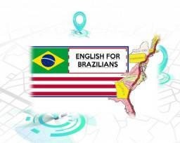 Aulas de Conversação (Inglês) com um Americano