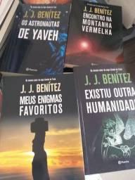 Livros Quadrilogia J.J. Benítez