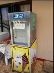 Vendo máquina de sorvete Italiana.
