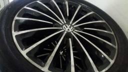 Rodas aro 17 com pneus Faço troca