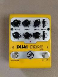 Nig dual drive dd1 pedal top com 6 diferentes overdrive