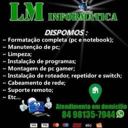 LM Informatica - Formatação E Manutenção A Domicílio