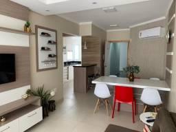 Lindo Apartamento Novo com 02 dor- Split, Net e Internet