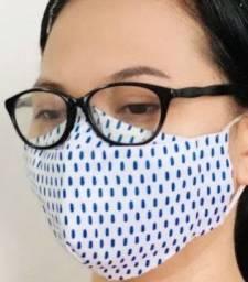Máscara 3D Face Dupla Não embaça o Óculos
