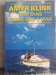 Almir Klink Entre o céu e o mar, livro