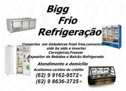 Geladeiras frost free,convencional e outras:Consertos e Manutenção com ótimos preços