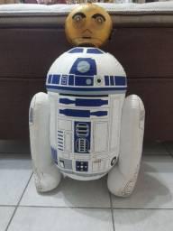 Almofada Star Wars R2D2 e C3PO