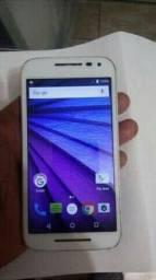 Moto G3 branco vendo ou troco por Samsung