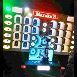 Painel de LED para carretinha de som automotivo