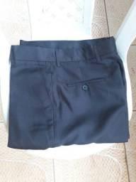 Calça social masculina preta Tam. 42 nova em Samambaia