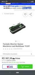 Teclado mecânico warrior tc217