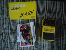Pedal boss bass overdrive ODB 3
