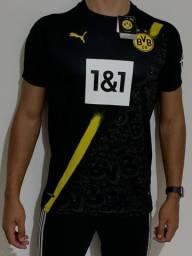 Borussia Dortmund - Camisa Uniforme 2020/2021