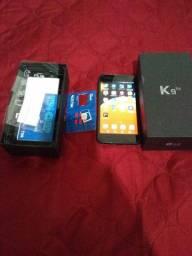 Vendo celular lg k9 semi novo
