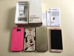 Samsung A7 32GB rosa