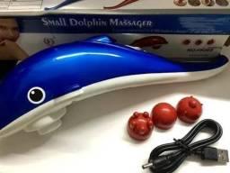 Massageador Elétrico Corporal Mini Golfinho novo ( aceitamos cartão)