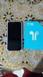 Vendo iPhone X 256Gb + 1 Fone i11 barato