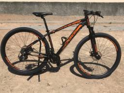 Bike Oggi Hackersport aro 29 Tamanho 17 com nota fiscal.