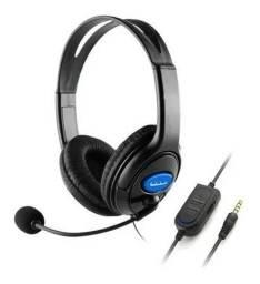 Fone Headset Gamer Mic P2 Xbox Ps4 Pc Celular (aceitamos cartão)