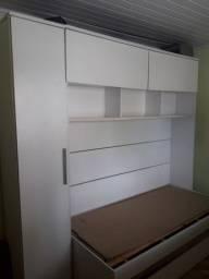 guarda roupa com duas camas