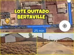 Lotes quitados no loteamento Bertaville em Palmas