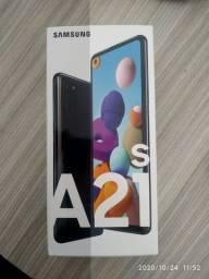 Samsung  A21S R$1.250,00 a vista ou cartão com juros da maquineta.
