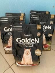 Ração golden gatos castrados 15kg