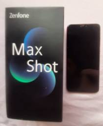 Asus zefone Max shot dois meses de uso com caixa