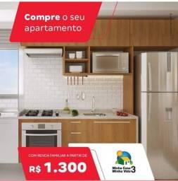 Sinal apartir 49,00 Reais entrada 72X renda 1300 Reias Apartamento 2 quartos na Sapiranga