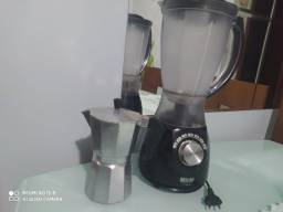 Liquidificador e cafeteira