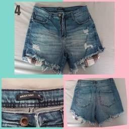 Shorts usado sem detalhe