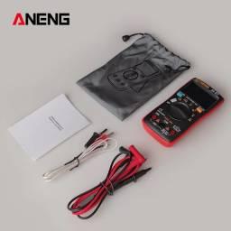 Multimetro Digital Aneng AN113d capacímetro temperatura