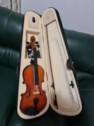 Violino elite 4/4 com case. Nunca usado.