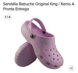 Sandália Babuche Kemo King Tradicional Adulto<br><br>